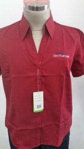 Female Shirts Embroidery Perth