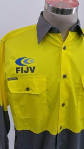 Tradies Workwear Shirts Embroidery
