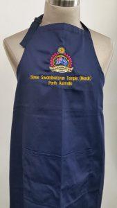 Apron Embroidery Perth