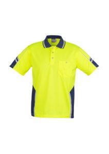 Hi Vis Short Sleeve Polo