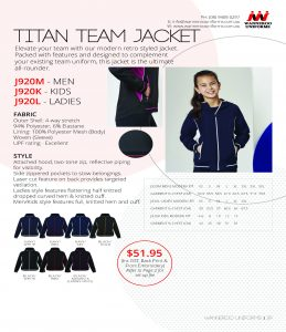 Titan Team Jacket